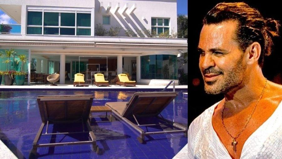Eduardo Costa coloca a casa à venda por mais de R$11 milhões - Reprodução/Montagem UOL