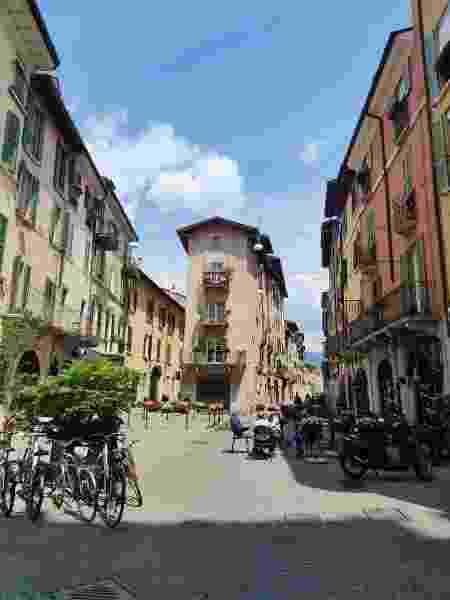 Brecia, na Itália, está bem diferente sem o fluxo intenso de turistas - Carlos Marcondes - Carlos Marcondes