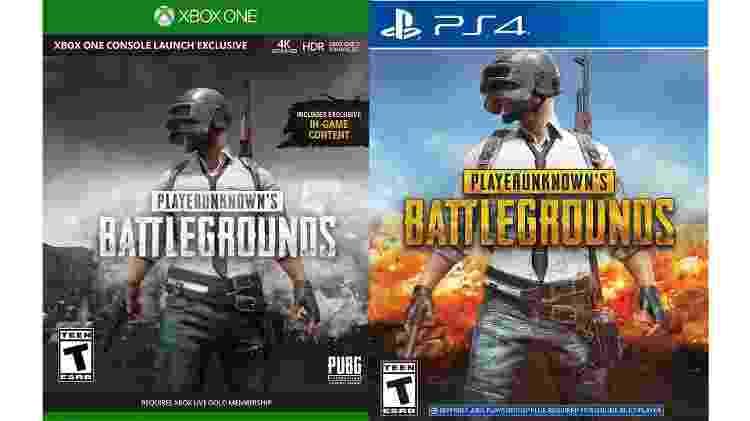 PUBG Xbox PS4 - Arte/UOL - Arte/UOL