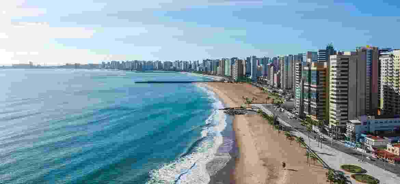 Fortaleza, no Ceará, foi eleita a favorita na pesquisa para destinos nacionais; a região do Nordeste disparou na preferência dos brasileiros - Getty Images/iStockphoto