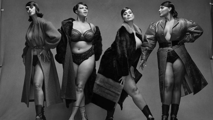 Vogue italiana traz quatro modelos plus size em sua capa - Reprodução/Instagram @vogueitalia