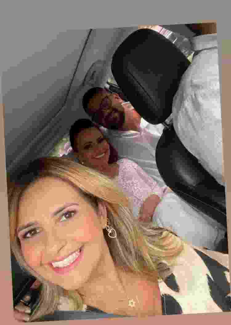 Debora Martinez compartilhou foto do casal - Reprodução/Instagram @martinezdebora - Reprodução/Instagram @martinezdebora