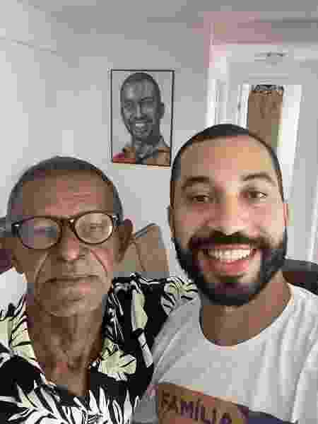 Gil do Vigor mostra foto de reencontro com o pai - Reprodução/Instagram - Reprodução/Instagram