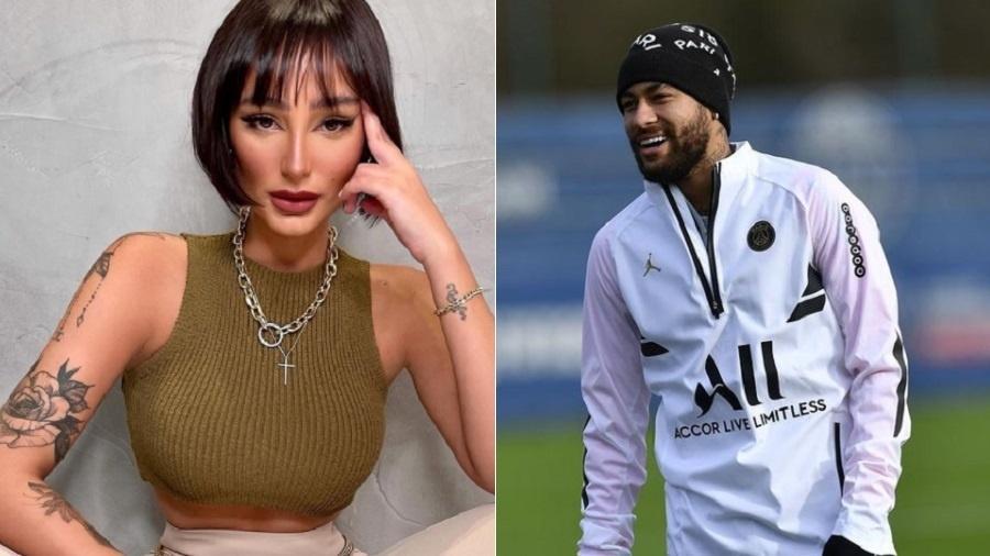 Modelo Anna Figueiredo relata caso de agressão e ganha apoio de Neymar - Fotos: Divulgação/annavfigueiredo e @neymarjr