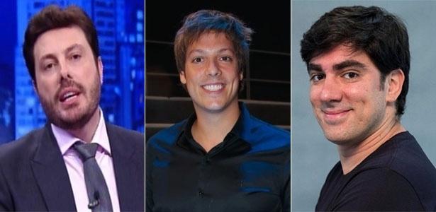 Danilo Gentili, Fábio Porchat e Marcelo Adnet serão concorrentes na TV aberta