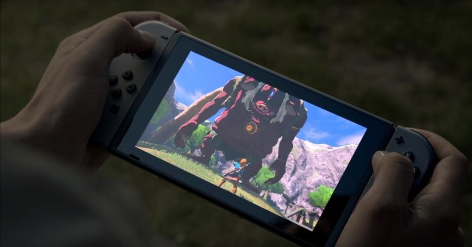 """O premiado """"The Legend of Zelda: Breath of the Wild"""" terá sua melhor versão no Switch"""