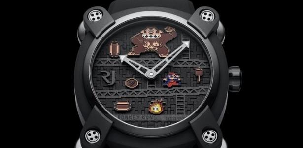 Você desembolsaria milhares de reais por um relógio de game?