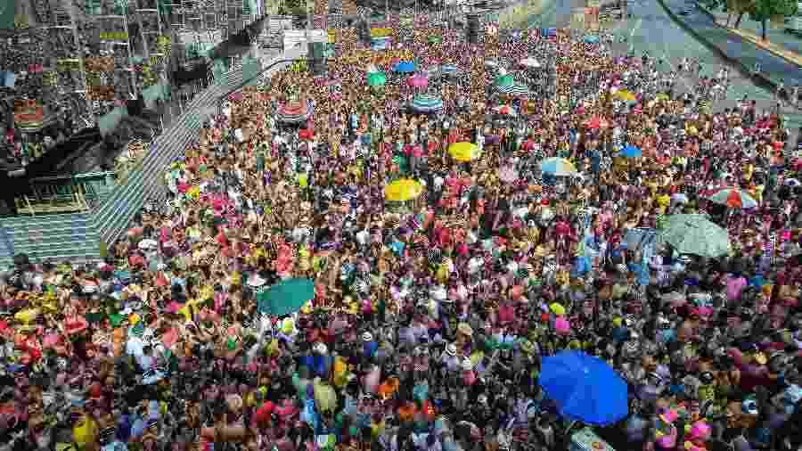 """Bloco """"Então, Brilha"""" reuniu milhões nas ruas de Belo Horizonte, em Minas Gerais - Divulgação/Facebook"""