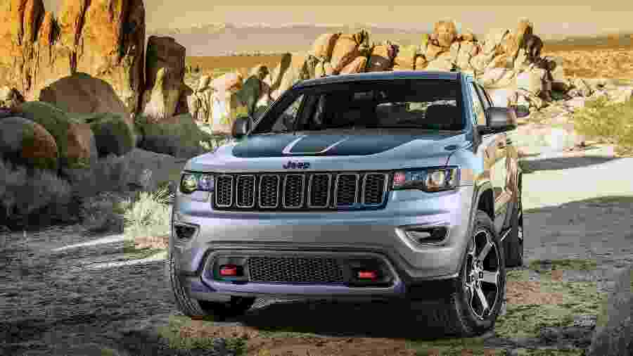 Jeep Grand Cherokee Trackhawk promete quebrar todos os recordes e ser o SUV mais rápido da história - Divulgação