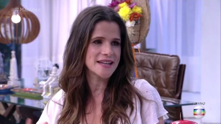 """Ingrid Guimarães diz que estava """"cheia de espinhas e com a cara inchada"""" na época da novela - Reprodução/Globo"""