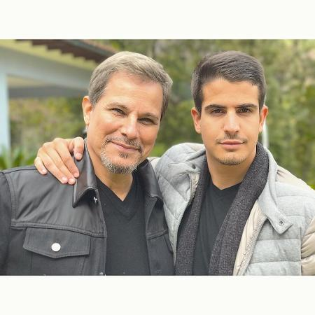Edson Celulari e o filho, Enzo Celulari - Reprodução/Instagram