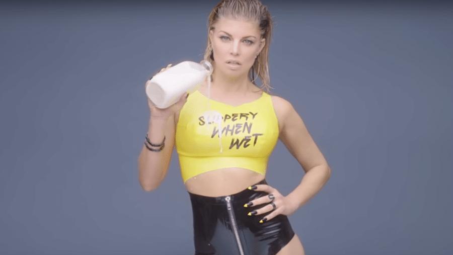 A cantora Fergie - Reprodução