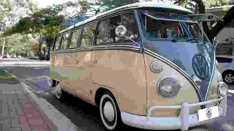 "Volkswagen Kombi 1975 ""Corujinha"" - Arquivo pessoal - Arquivo pessoal"