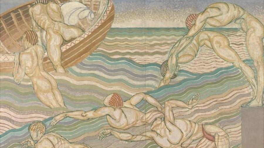Obra de Duncan Grant na mostra sobre arte britânica queer da Tate Britain, em Londres - Tate Britain