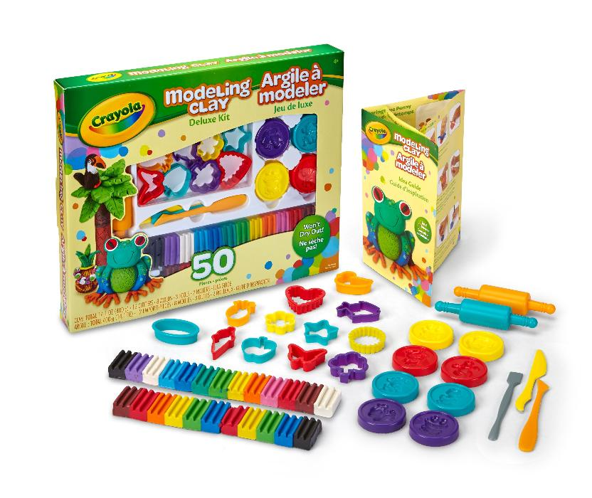 Kit de Massinhas Deluxe, R$ 149,90, Crayola para Abrakidabra (www.abrakidabra.com.br)
