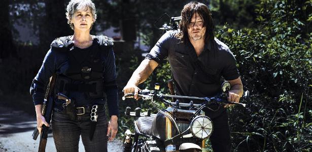"""Imagem da oitava temporada de """"Walking Dead"""""""