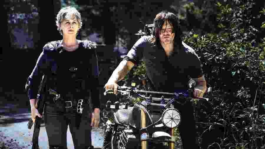 """Imagem da oitava temporada de """"Walking Dead"""" - Divulgação"""
