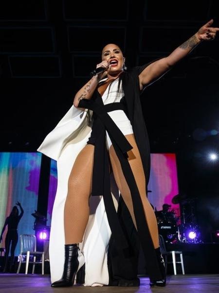 Demi Lovato no Rock in Rio Lisboa 2018 - Divulgação