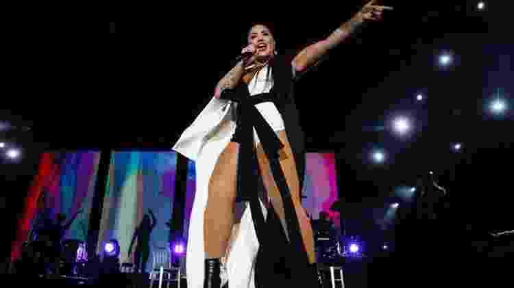 Demi Lovato se apresenta no Rock in Rio Lisboa 2018 - Divulgação - Divulgação