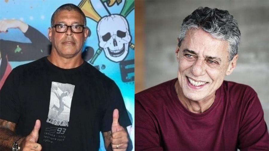 Alexandre Frota é condenado a pagar R$ 50 mil de indenização a Chico Buarque - Manuela Scarpa/Brazil News e Leo Aversa/Divulgação