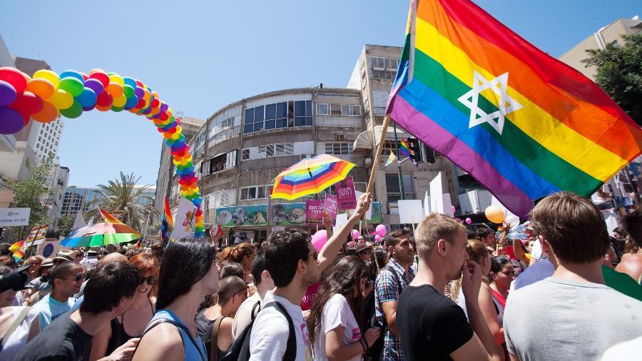 Parada gay de Tel Aviv, em Israel - Getty Images