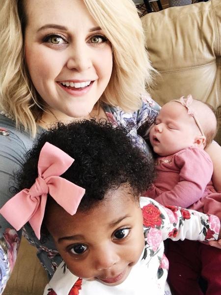 Mãe engravida após adotar criança recém-nascida - rebekah.laskowski/Reprodução Instagram