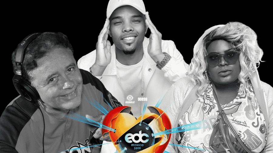 DJ Marlboro, Mc Zaac e Jojo Todynho estão no line-up do EDC - Divulgação