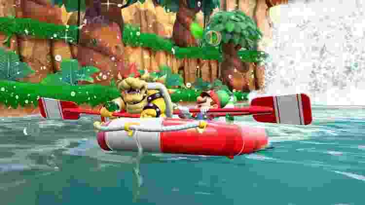 """River Survival é um modo que refresca a fórmula clássica de """"Mario Party"""" - Divulgação"""