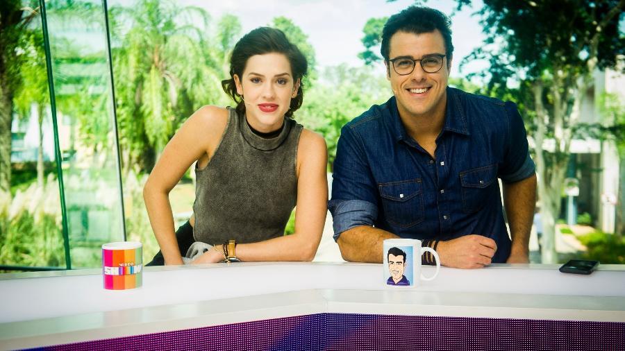 """Sophia Abrahão e Joaquim Lopes se despedem hoje do """"Vídeo Show"""" - João Miguel Júnior/TV Globo"""