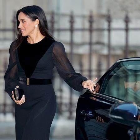 Meghan Markle não deve fechar a porta do carro por questões de segurança - Getty Images