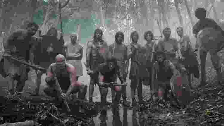 """Cena do filme """"Il Primo Re"""" - Divulgação - Divulgação"""