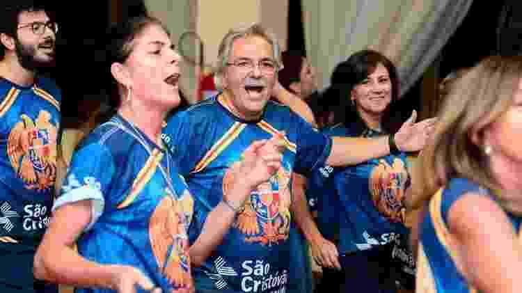 Dikran Kiulhtzian, que sempre gostou de Carnaval, vai desfilar com a família pela Rosas de Ouro - Bruno Ulivieri/Divulgação  - Bruno Ulivieri/Divulgação