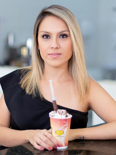 Camila Felix é a proprietária da The Shaky, que vende sobremesas personalizadas - Léo Barrilari/The Shaky/Divulgação