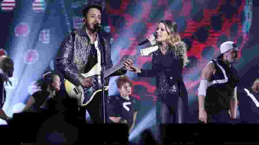 Sandy e Junior levam a turnê Nossa História a SP nesse fim de semana - Roberto Filho/Brazil News