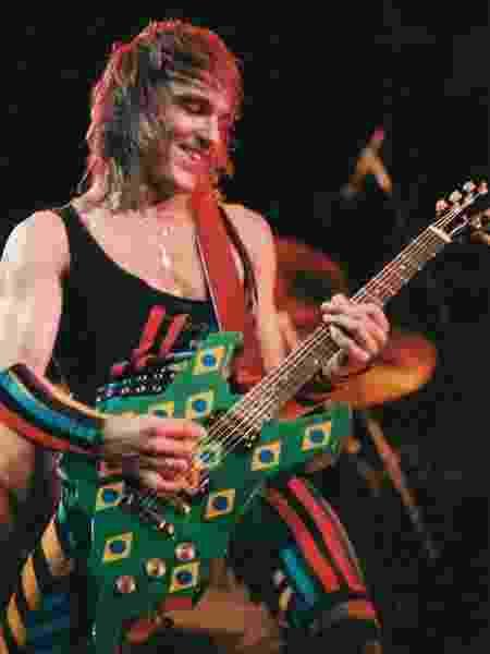 Matthias Jabs no Rock in Rio em 1985 - Divulgação/Rock in Rio
