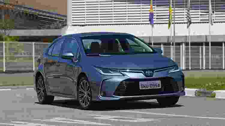 Toyota Corolla - Murilo Góes/UOL - Murilo Góes/UOL