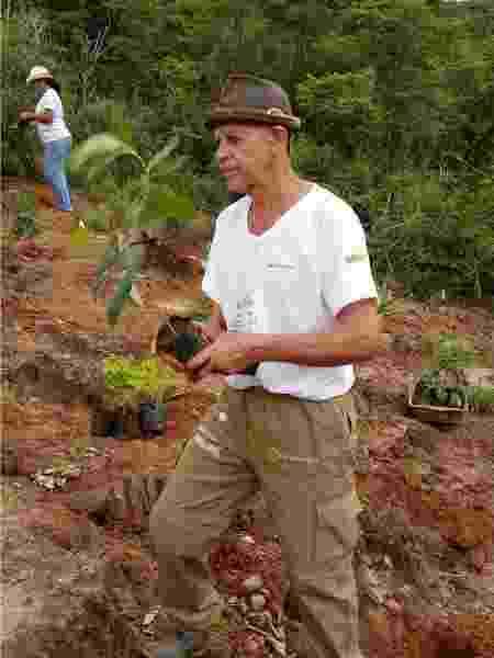 José dos Santos, morador da comunidade de Tesouras - CPCD - CPCD