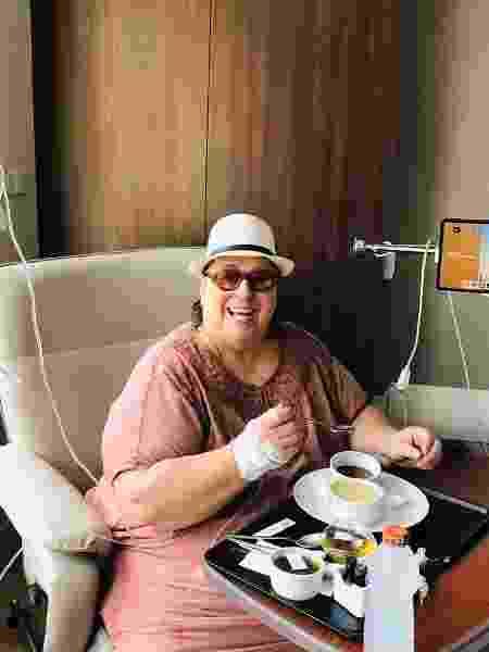 Mamma Bruschetta fez cirurgia para retirada de tumor no esôfago - Reprodução/Instagram/mammabruschetta
