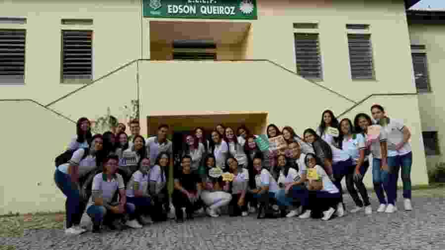 Alunas da Escola Estadual de Educação Profissional Edson Queiroz - Divulgação