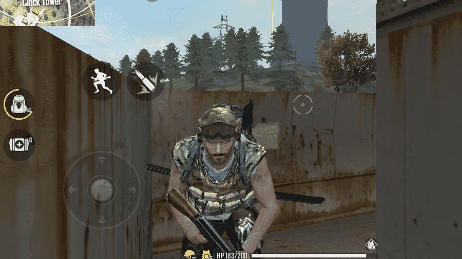 Camper, Zé Guaritinha ou simplesmente o jogador que abusa de uma estratégia de tocaia e se instala em alguma construção para esperar os inimigos passarem - Reprodução