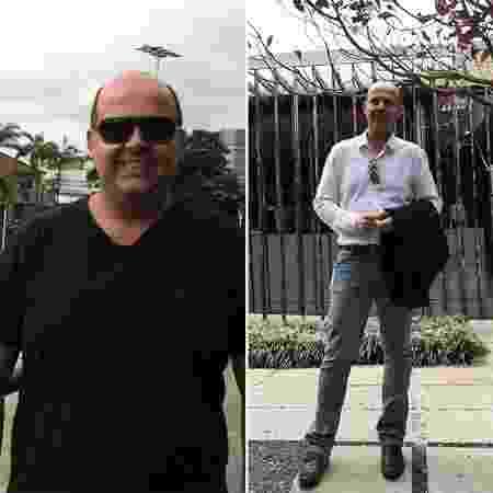 Marcelo antes e depois - Arquivo pessoal - Arquivo pessoal