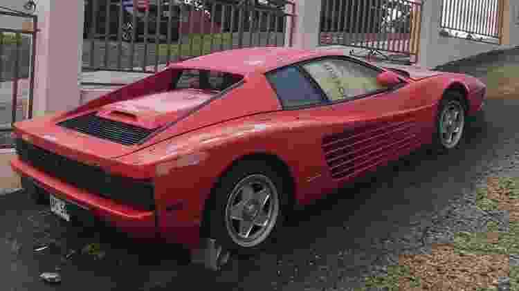 Ferrari Testarossa 1987 Porto Rico Ratarossa Scott Chivers Caçador de Ferraris - Reprodução - Reprodução