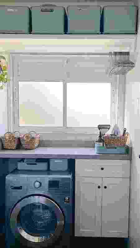 Lavanderia do Apartamento 21 - Reprodução/Instagram - Reprodução/Instagram