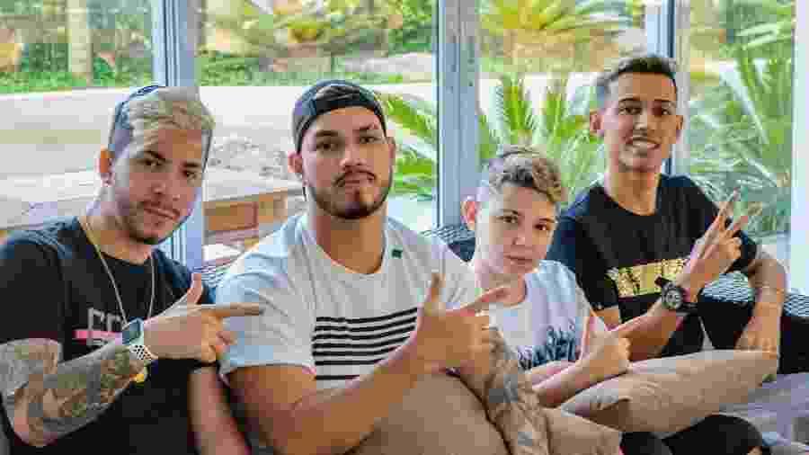 Com JJordan, Lzinn, Thurzin e BAK, a Noise chegou a 1246 pontos e levou o título - Reprodução/Instagram/JordanSilva