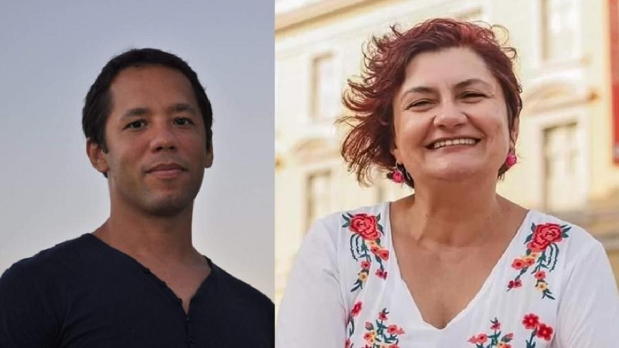 Itamar Vieira Jr. e Cida Pedrosa - Divulgação