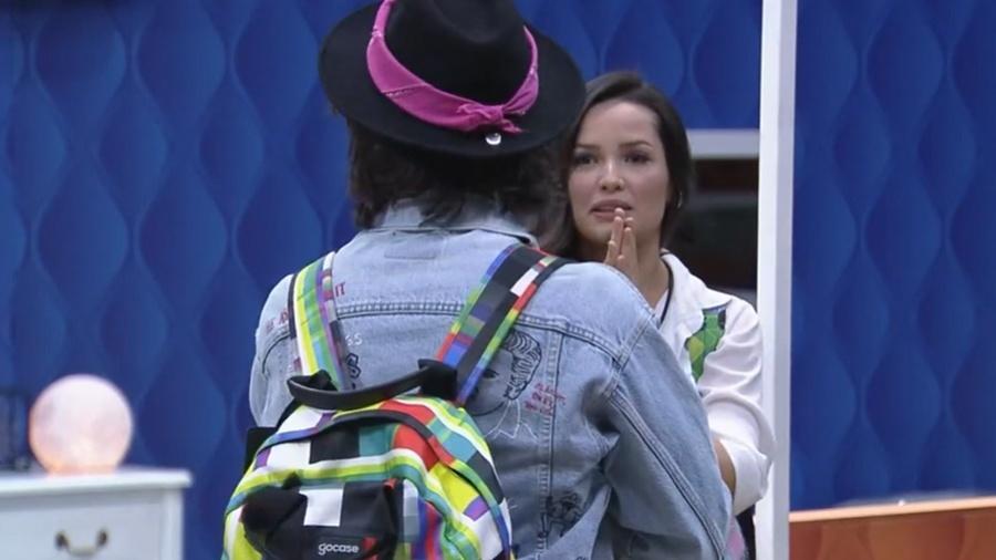 BBB: Juliette e Fiuk se encontram no reality - Reprodução/GloboPlay