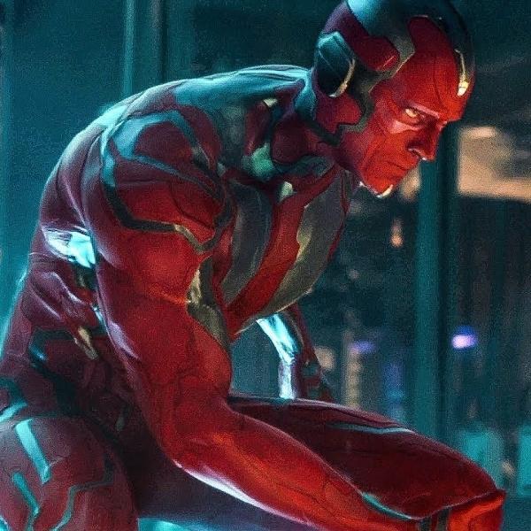 A cena do nascimento do Visão em 'Vingadores: Era de Ultron'