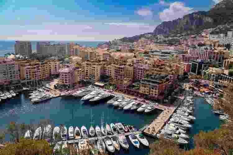 Monte Carlo, a capital de Mônaco - Getty Images - Getty Images