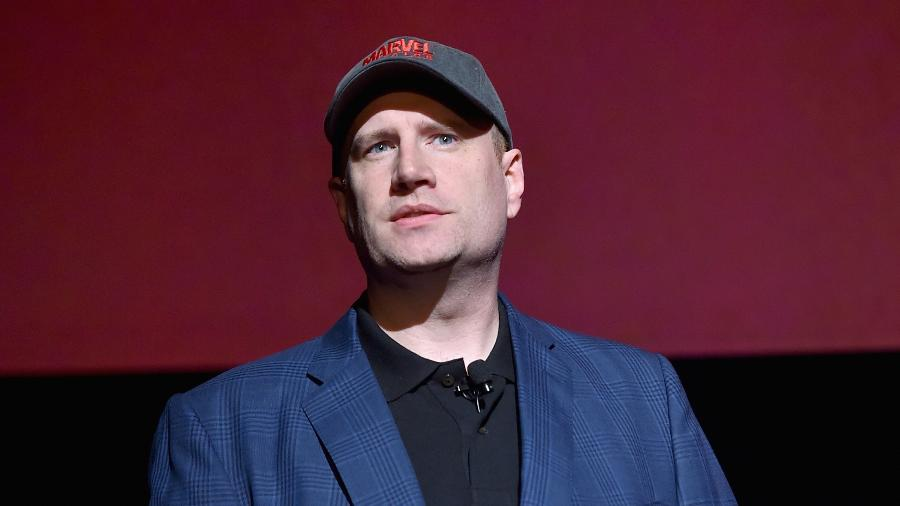 Kevin Feige, presidente dos estúdios Marvel - Getty Images