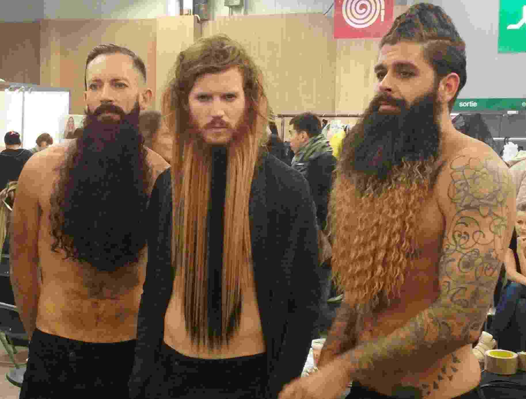 Barbas estranhas - Reprodução/Facebook/Biblond